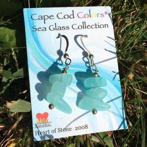 Cape Cod Colors Sea Glass Earrings